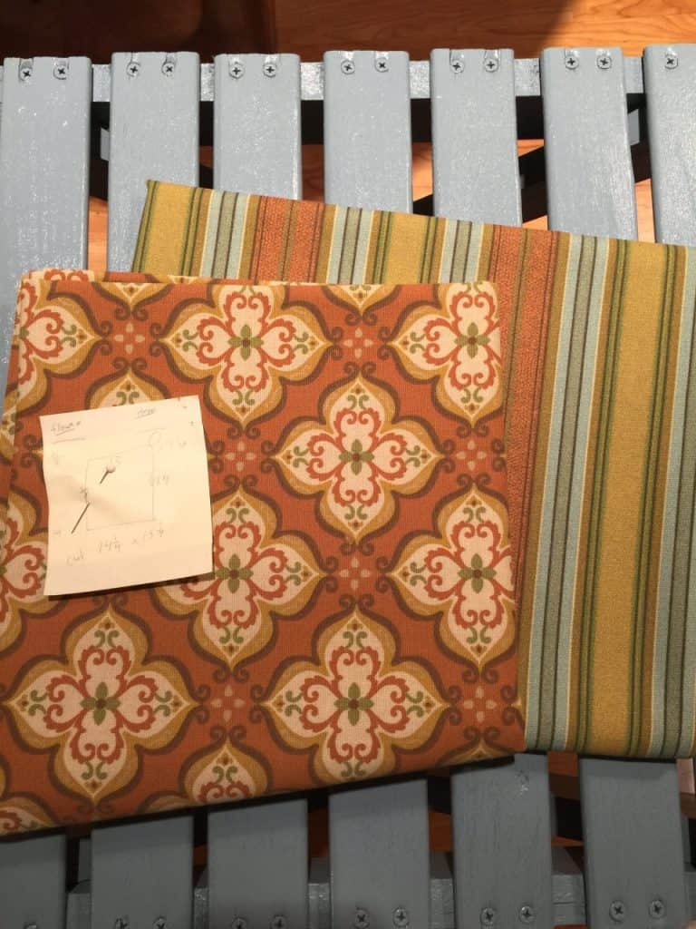 Coordinating Fabric