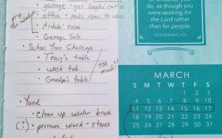 Not Gonna Stress …March's Projects!