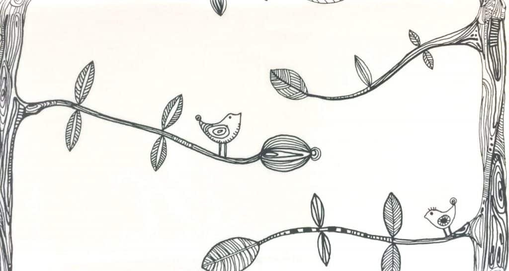 whimsical curtain print from IKEA