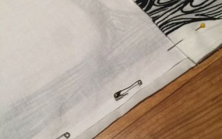 Adding a Lining to a Store Bought Curtain