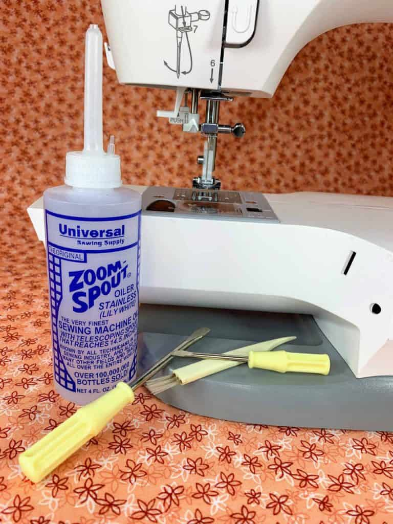 Essential tools for routine sewing machine maintenance