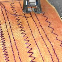 Lesson 9: Two Basic Sewing Machine Stitches