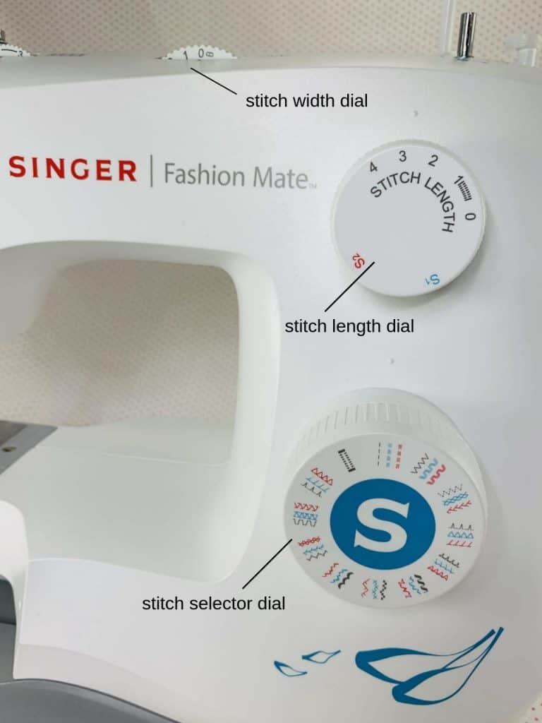 dials related to stitches