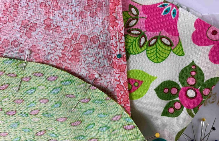 Pinning Fabric for Sewing