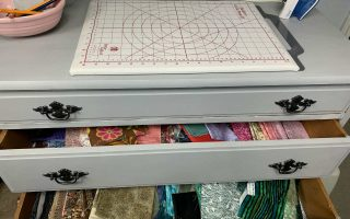 dresser top is used for pressing zone