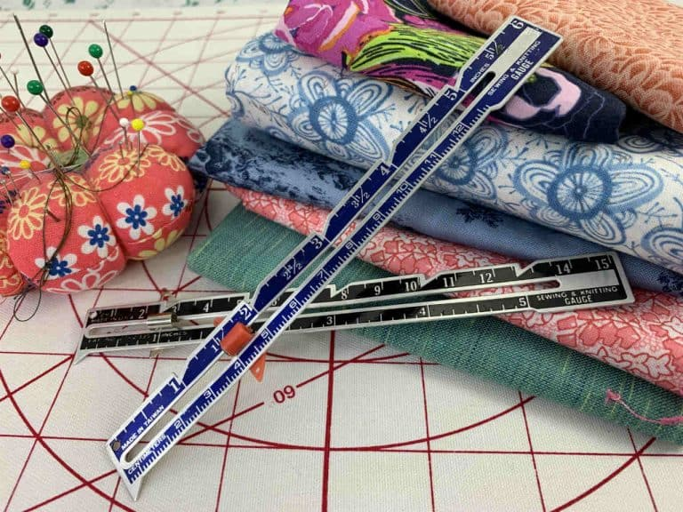 How to Use a Sewing Gauge for Hems