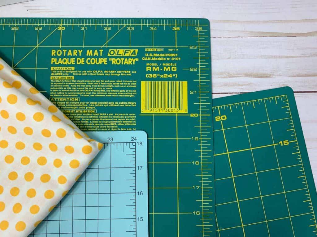 rotary cutting mats