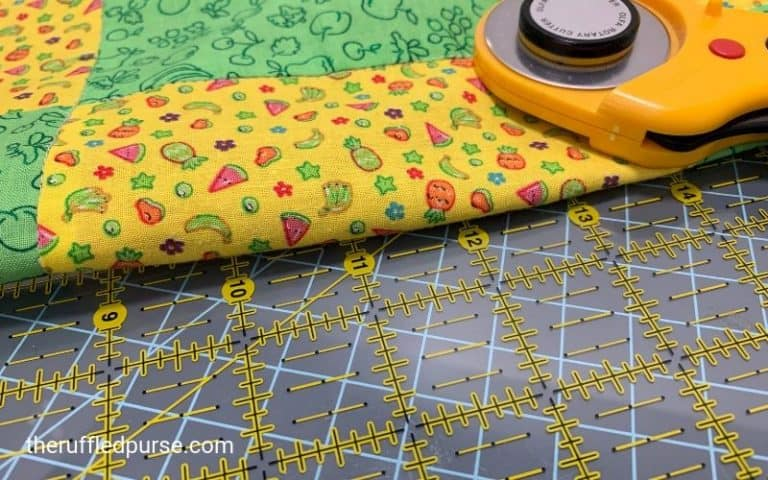 How to Square a Nine Patch Block