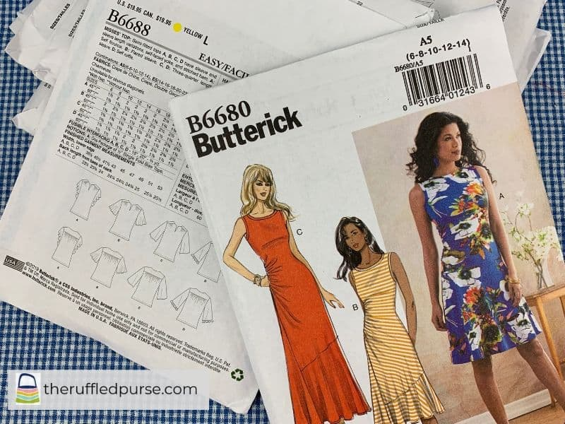 Butterick Easy patterns