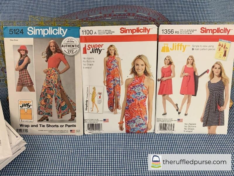 Simplicity Jiffy and Super Jiffy patterns