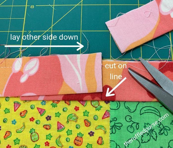 Lay binding and cut