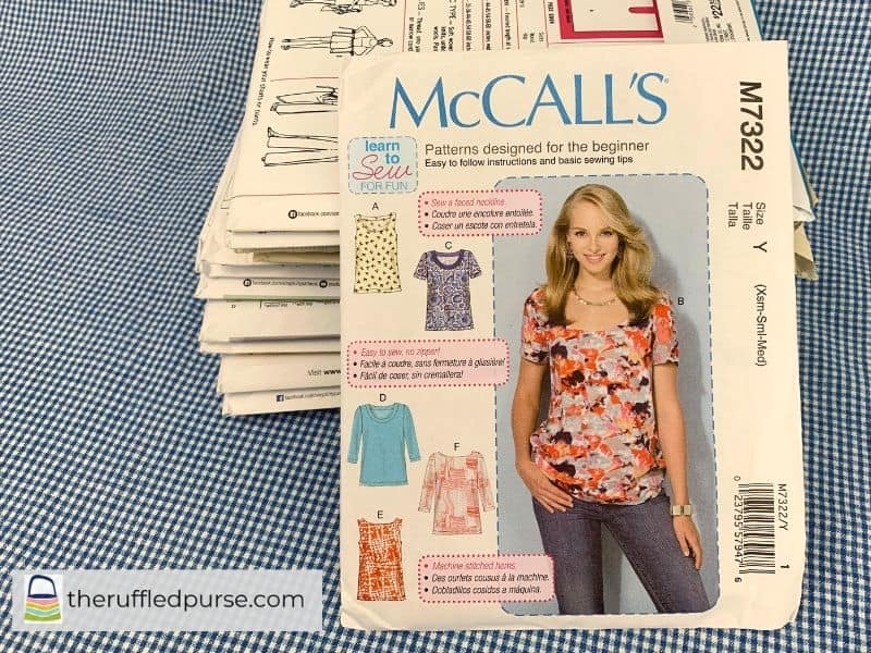 McCall's Learn to Sew patterns