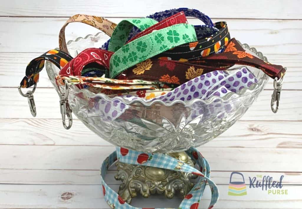 Lanyards are an easy to sew handmade gift.