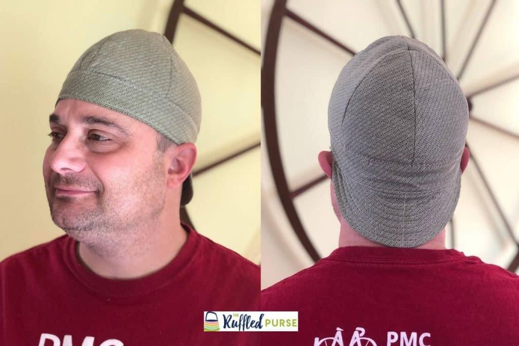 handmade welder's cap