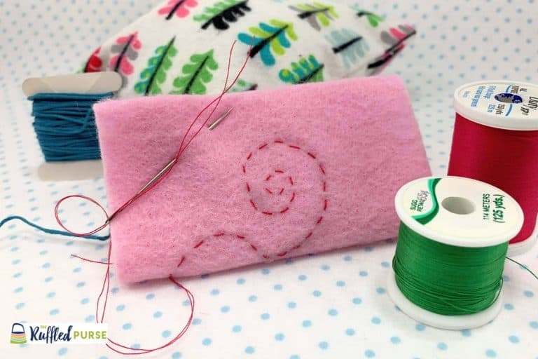 How to Do the Running Stitch