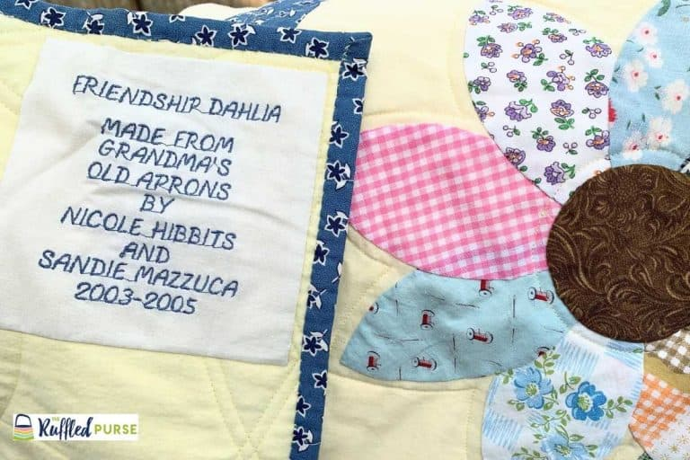 Memory Items: Sewing Unique and Personalized Projects