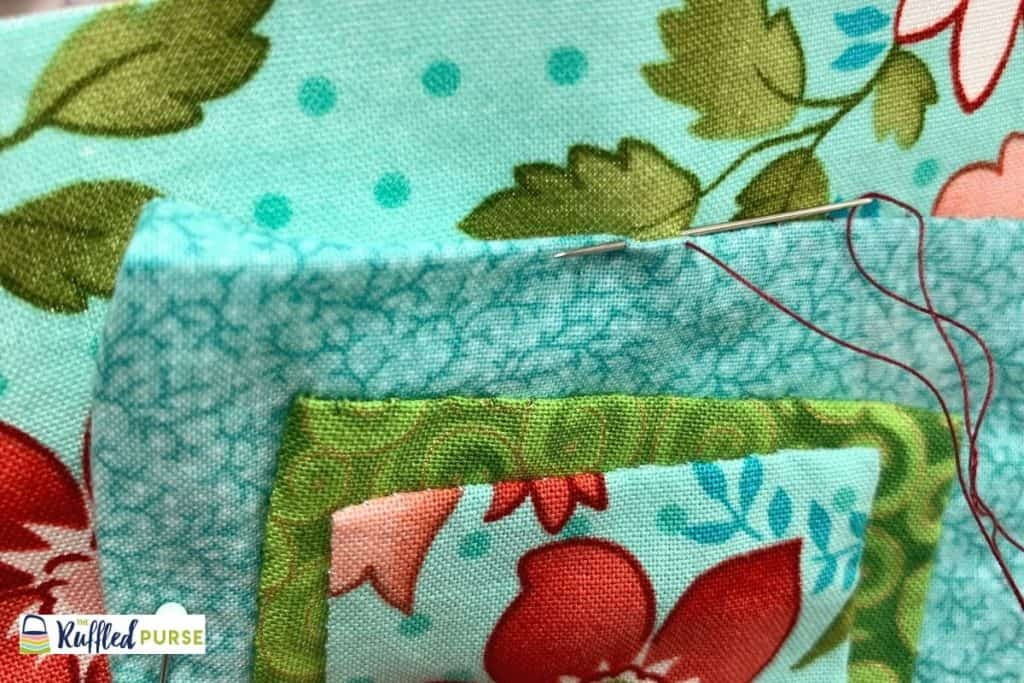 blind stitch for applique