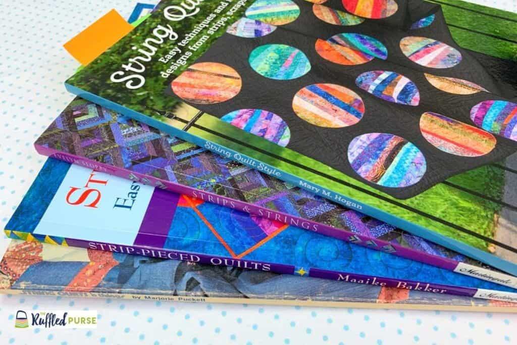 String piecing book resources