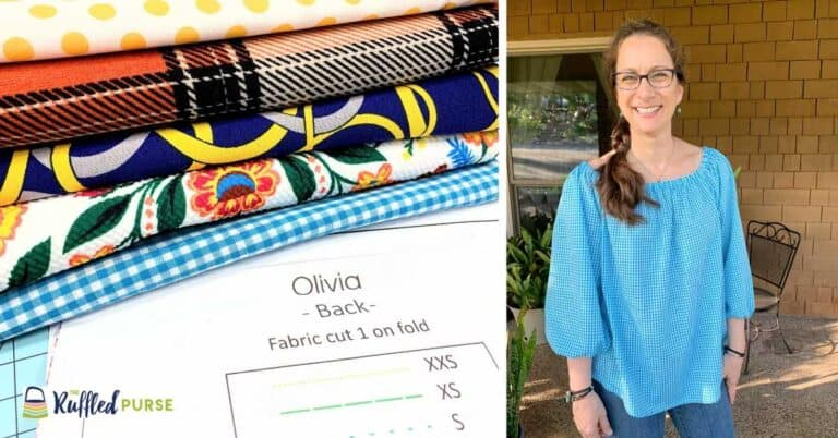 Easy-to-Sew Peasant Blouse Pattern