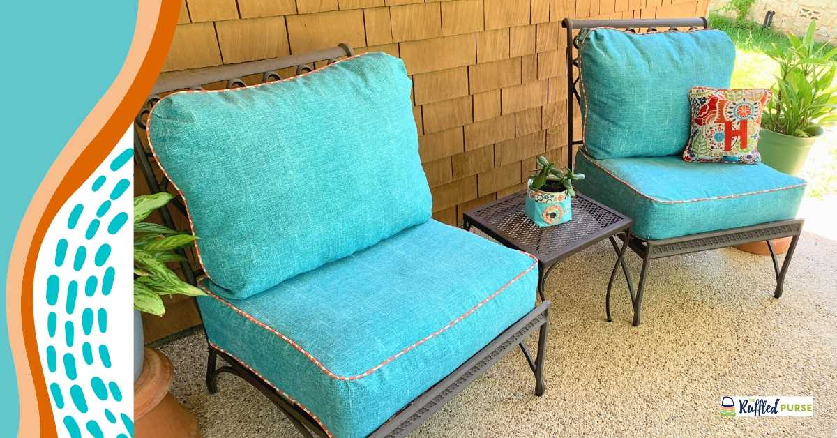 How To Make Cushion Covers For Outdoor, How To Make Outdoor Furniture Cushions