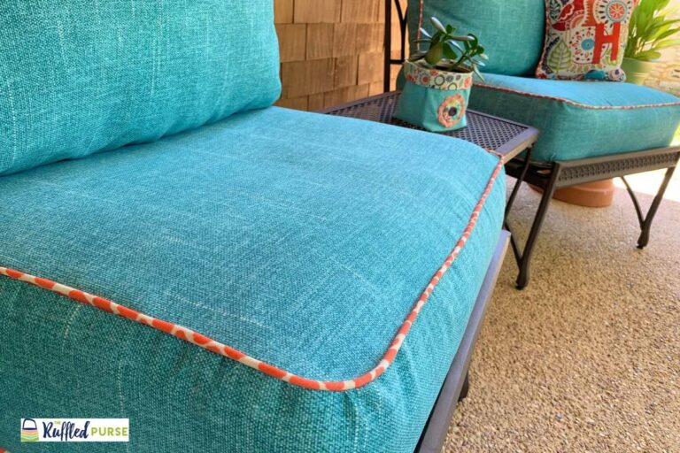 How to Make Cushion Covers for Outdoor Furniture