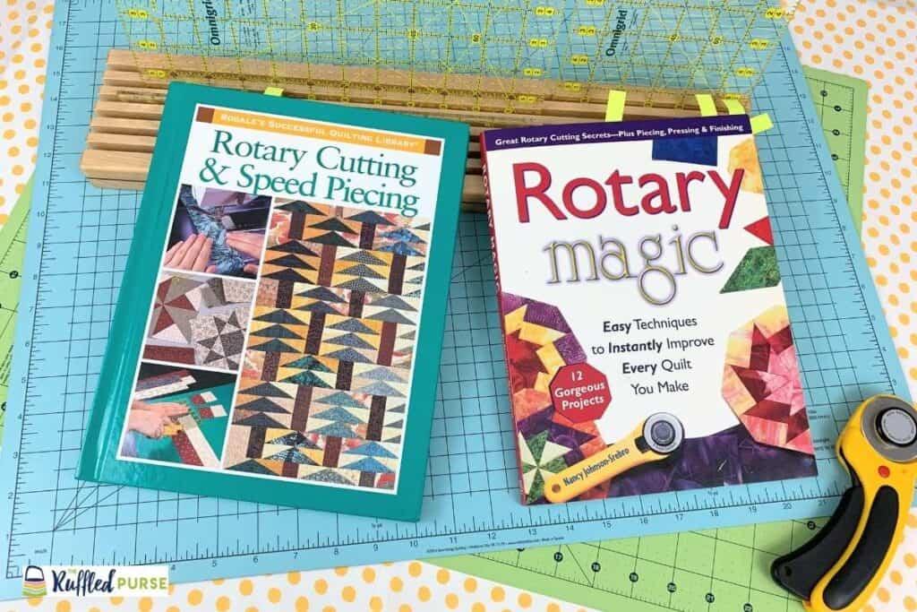 Rotary cutting books