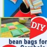 Pinterest image of bean bags