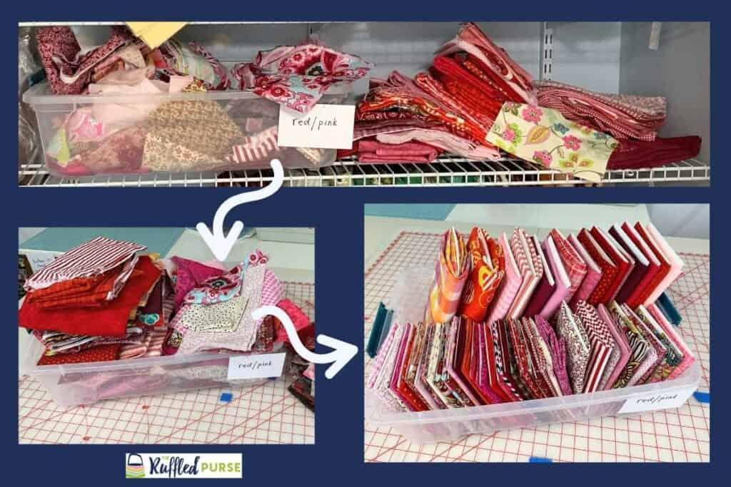 Transforming fabric storage