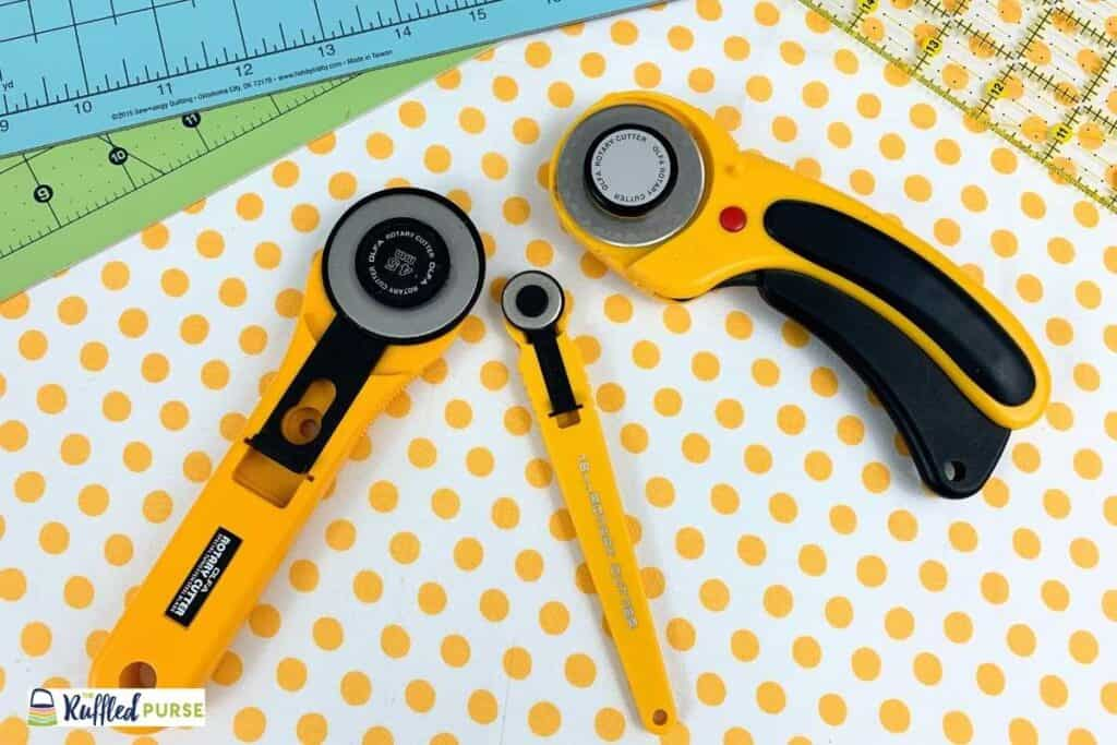 Different rotary cutters