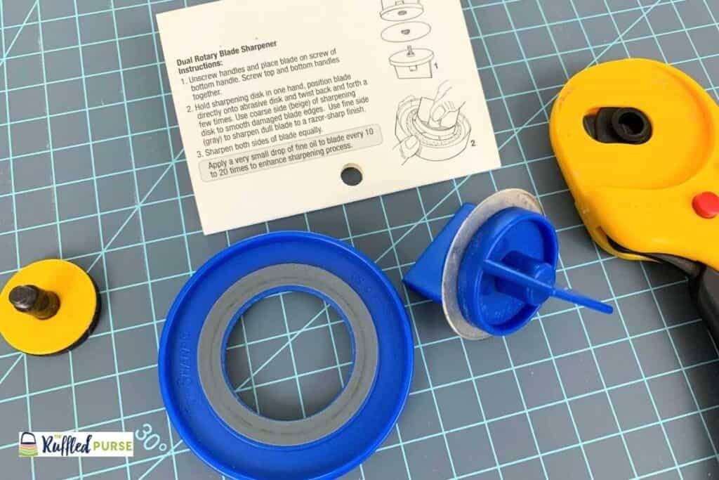 rotary blade sharpener
