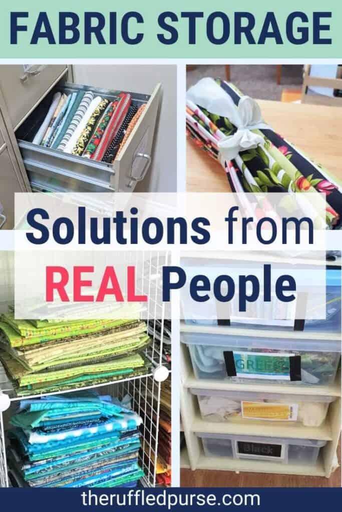 ways to store fabric