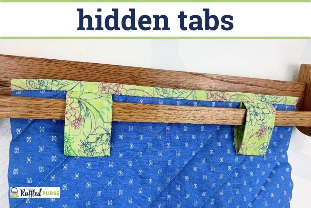 Hidden tabs