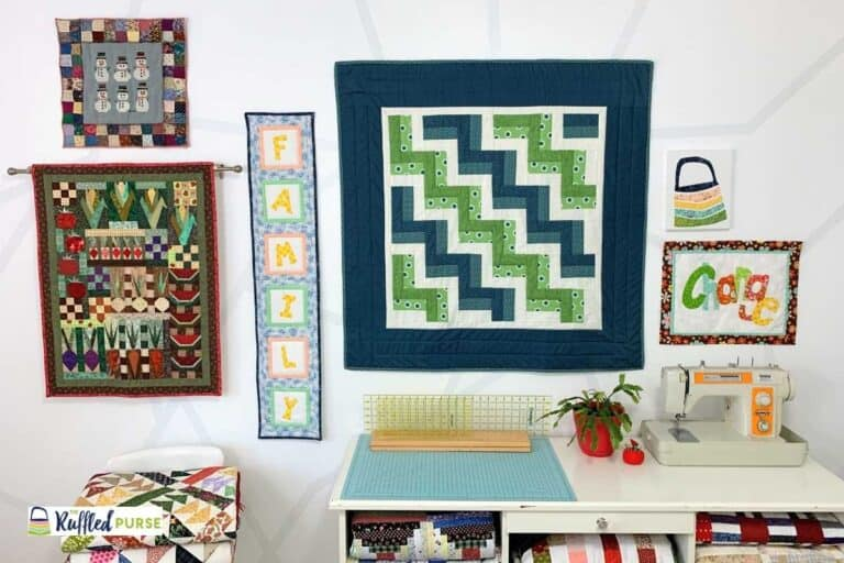 How to Hang a Quilt on the Wall