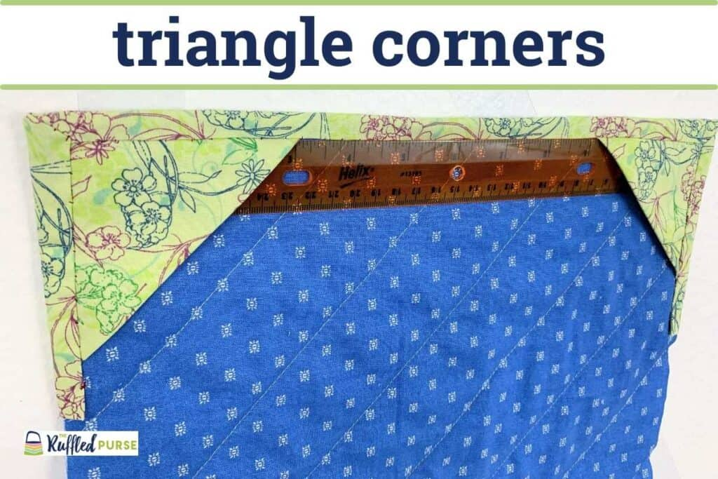 triangle corners