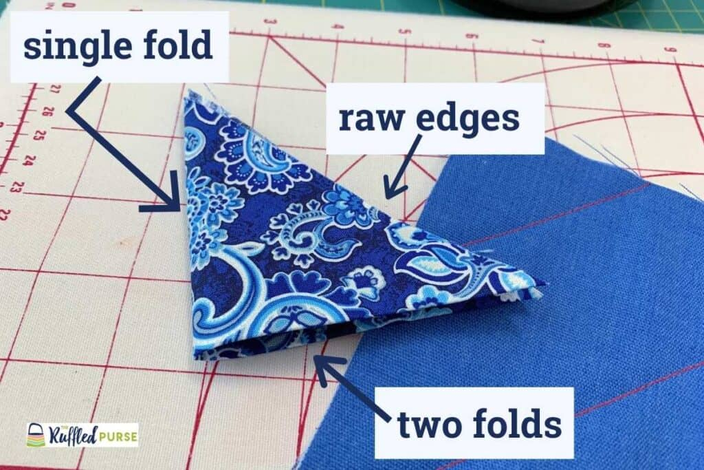 Each triangle edge is different