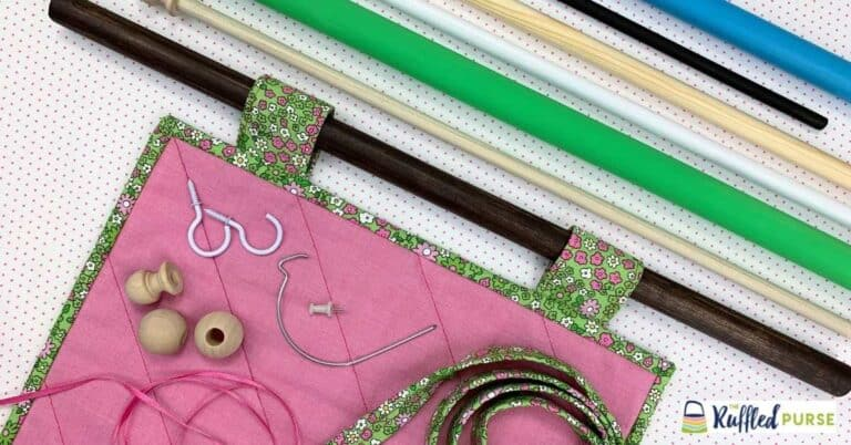 How to Hang a Quilt with a Dowel Rod and Tabs